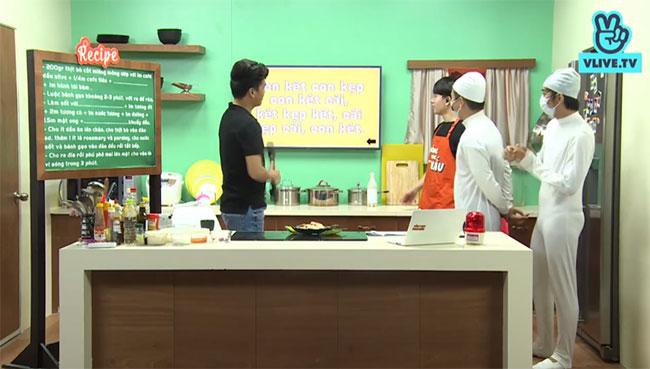 Hồ Quang Hiếu lần đầu trổ tài nấu món Hàn Quốc - 6