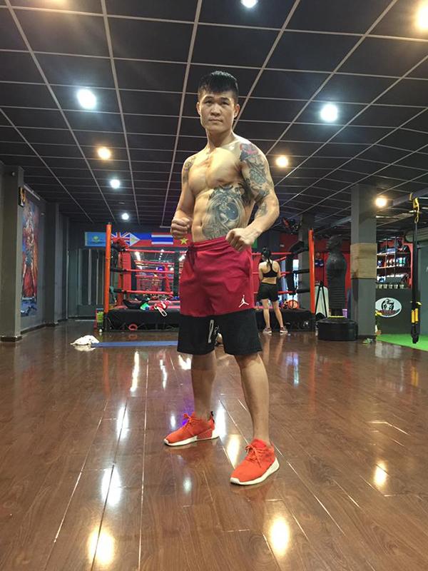 Võ sĩ Trương Đình Hoàng. Ảnh: FB.