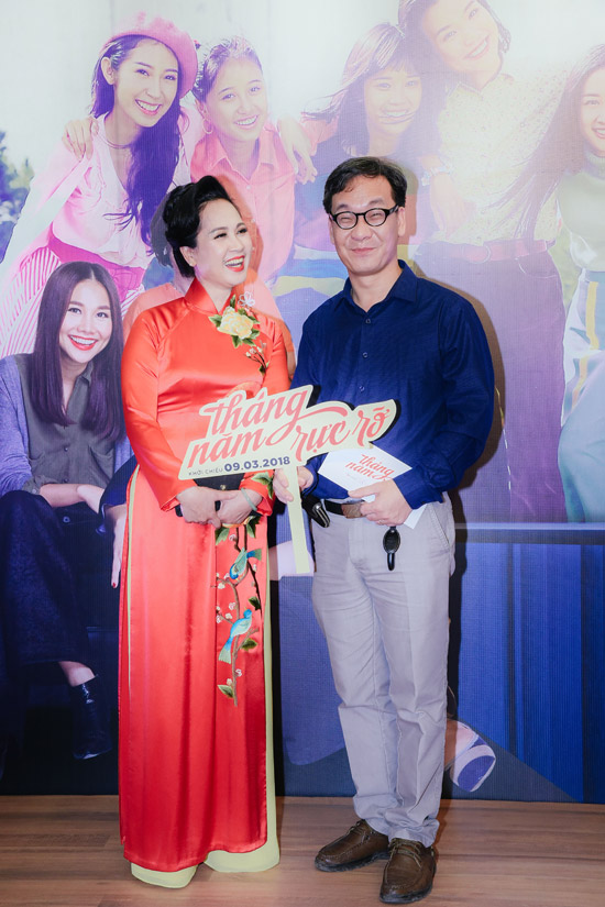 NSND Lan Hương và Đức Khuê cũng tham gia phim với vai bố mẹ củanhân vật Dung đại ca.