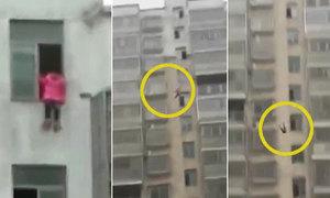 Học sinh lớp 6 thoát chết sau khi nhảy từ tầng 15