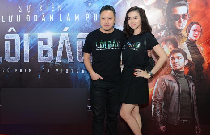 Vợ chồng Victor Vũ và Đinh Ngọc Diệp.
