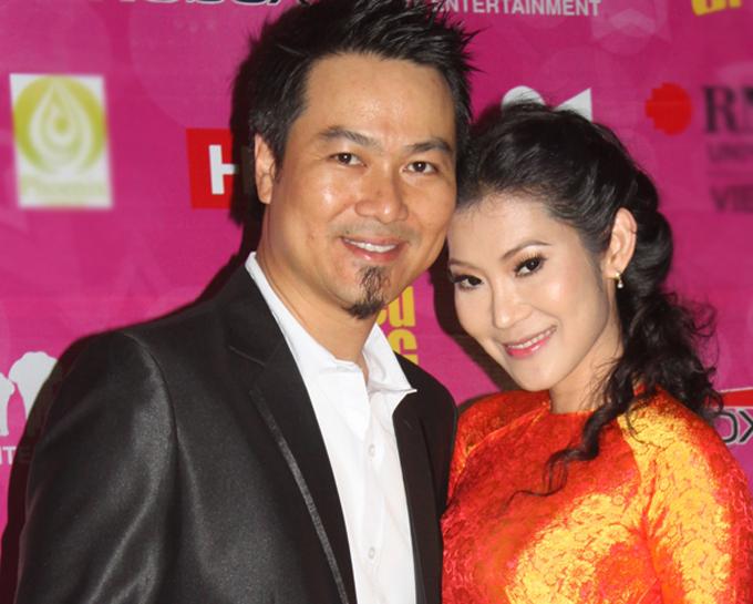 Vợ chồng Kim Phượng - Vũ Trọng Khoa.