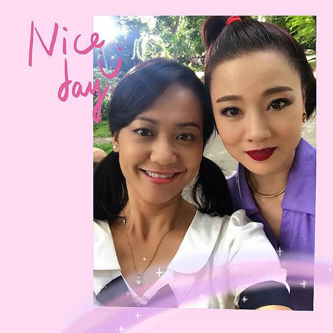 Diễn viên Hồng Ánh gửi lời chúc mừng sinh nhật tới người bạn thân - diễn viên Mỹ Duyên. Hai người tái hợp trong tác phẩm điện ảnh Tháng năm rực rỡ đang gây sốt màn ảnh Việt.