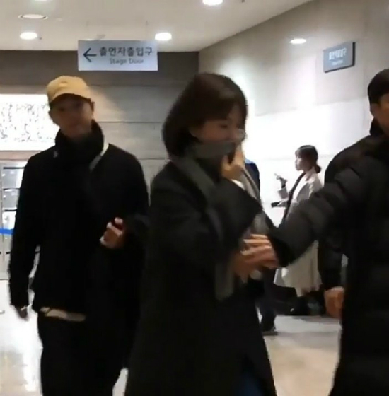 Vợ chồng Song Hye Kyo hẹn hòđi nghe nhạc - 3