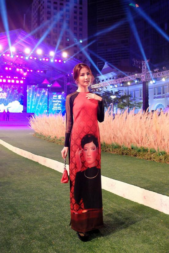 Dàn nghệ sĩ Việt tỏa sáng với áo dài - 1