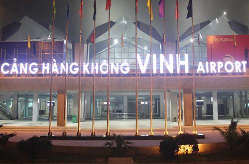 Sân bay Vinh nơi xảy ra sự cố. Ảnh: Nguyễn Hải.