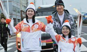 Jang Nara xinh đẹp, đầy sức sống khi rước đuốc ở Thế vận hội