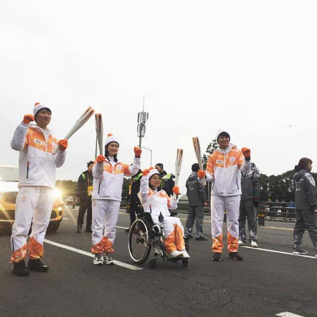 Jang Nara xinh đẹp và đầy sức sống khi rướcđuốcở Thế vận hội - 3