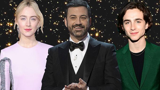 Jimmy Kimmel sẽ dẫn chương trình Oscar năm nay.