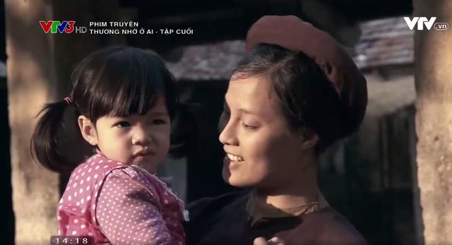 Ở tập 34, Nhân bế bé Ban Mai - kết quả đêm ân ái bí mật giữa con gái mình và người tình cũ.