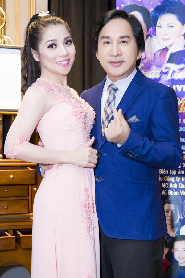 Nghệ sĩ Kim Tử Long tại họp báo giới thiệu liveshow của Kiều Trâm.