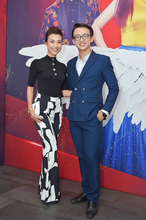Á hậu Hoàng Oanh bất ngờ tiết lộ MC Quang Bảo là người con trai đầu tiên cô thích - 2