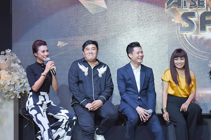 Á hậu Hoàng Oanh bất ngờ tiết lộ MC Quang Bảo là người con trai đầu tiên cô thích - 3
