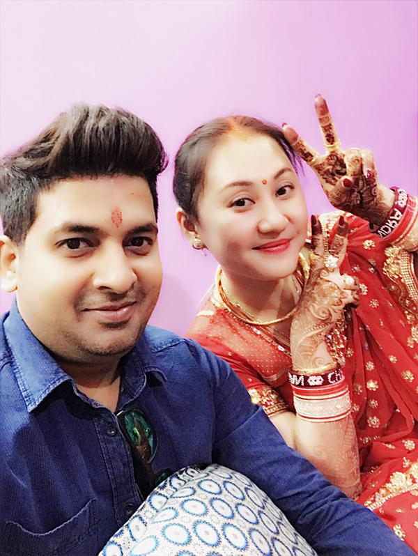 Sau đám cưới, Ngọc Xuân và ông xã vẫn chủ yếu sống ở TP HCM để tiện công việc.