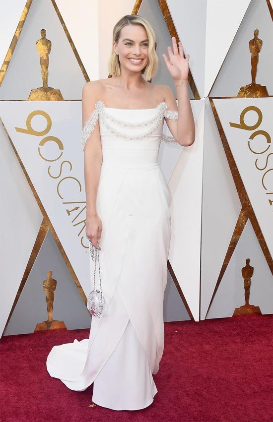 Margot Robbie - ngôi sao được đề cử Nữ diễn viên chính xuất sắcvới phim I, Tonya.