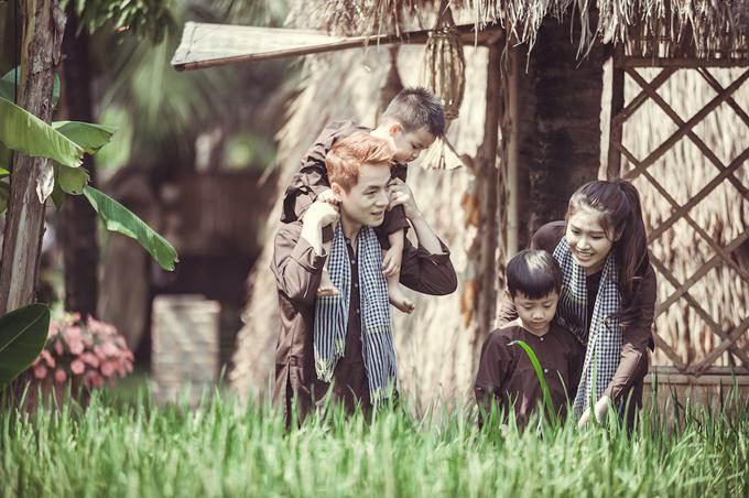 Vợ chồng Đăng Khôi đưa hai con về miền Tây tập làm nông dân - 7