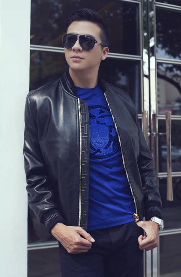 Dương Hoàng Anh nổi tiếng với vai trò người mẫu trước khi bén duyên phim ảnh.