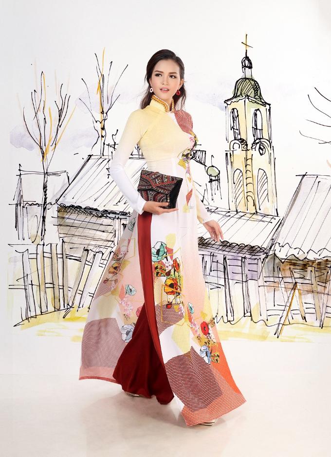 Thái Tuấn ra mắt BST áo dài Con đường tơ lụa - 7