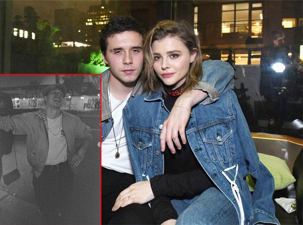 Trong ngày bạn trai tròn 19 tuổi, nữ diễn viên Chloe Moretz đăng ảnh Brooklyn đang cười sảng khoái cùng lời nhắn nhủ ngắn gọn: Đừng bao giờ ngừng cười nhé, em yêu anh. Chúc mừng sinh nhật Brooklyn