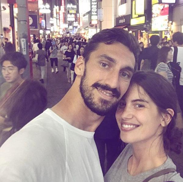 Trung vệ 31 tuổi ra đi để lại nỗi đau cho bạn gái lâu năm Francesca