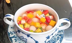 Chè hoa quả trân châu dẻo thanh mát