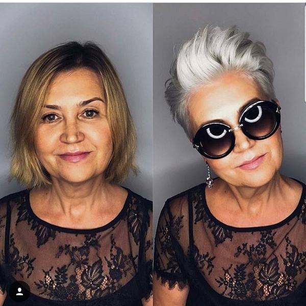 Dù bạn có đang ở độ tuổi nào thì cũng đừng ngần ngại làm mới bản thân bằng kiểu tóc ngắn hợp mốt.