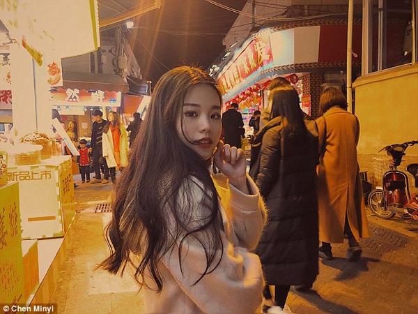 Cô dâu Chen Minyi.