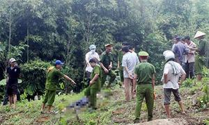 Hai cha con bị chém chết trong rừng sâu