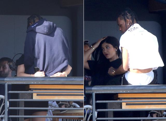 Kylie và Travis hẹn hò từ tháng 4/2017. Một tháng sau đó, cô út nhà Kardashian mang bầu bé Stormi.