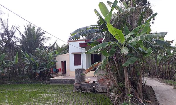 Gia cảnh nghèo khó của mẹ Châu Việt Cường. Ảnh:Lam Sơn.