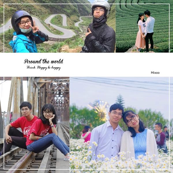 Hành trình yêu nhiều kỷ niệm của Thu Hằng và Anh Dũng.