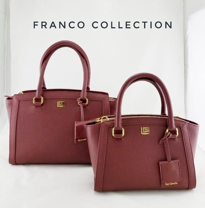 Bộ sưu tập Franco gồm thiết kế với hai kích thước lớn và trung phù hợp với từng sở thích cũng như mục đích sử dụng.