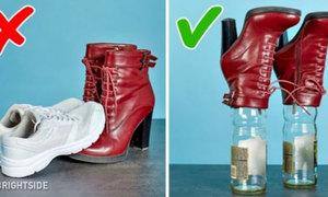 11 mẹo bạn nên nhớ để giày dép lúc nào cũng như mới
