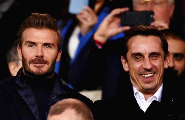 Bộ đôi cầu thủ của MU lừng danh một thời cùng nhau tới Paris để xem trận lượt về vòng 16 đội giữa Real và PSG