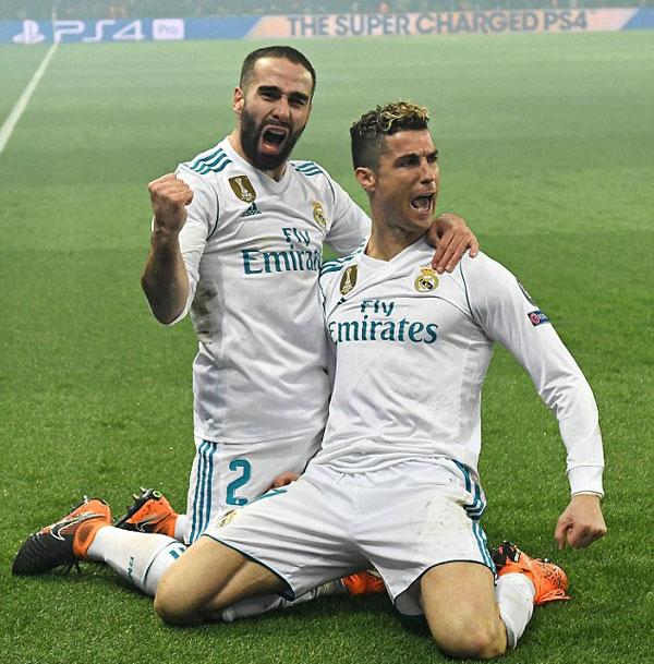 Đây là bàn thắng thứ 12 của C. Ronaldo từ đầu mùa giải Champions League, dẫn đầu danh sách vua phá lưới với 5 bàn nhiều hơn đối thủ kế tiếp