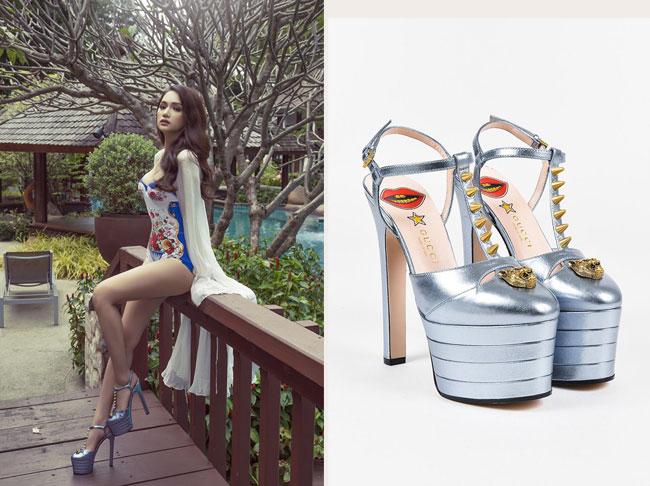 Áo tắm của Hương Giang Idol tại Hoa hậu Chuyển giới có giá cả chục triệu đồng - 2