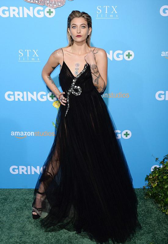 Paris Jackson tham dự buổi công chiếu phim mới Gringo tối 6/3 tại Los Angeles, Mỹ.