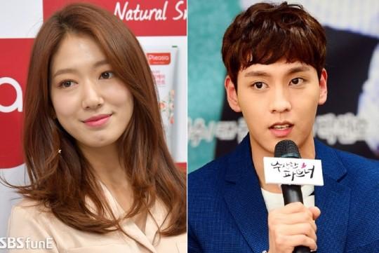 Park Shin Hye và Choi Tae Joon.