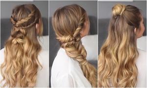 3 cách tạo kiểu tóc buộc nửa đầu điệu đà cho buổi hẹn hò