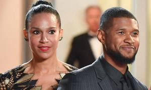 Vợ chồng Usher chia tay sau 2 năm kết hôn