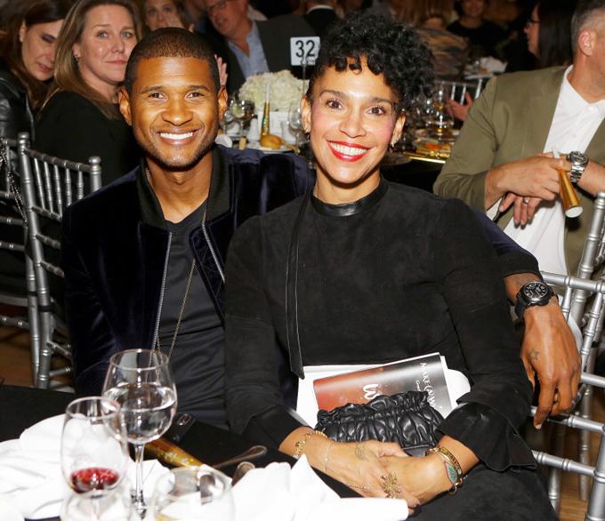 Grace không chỉ là vợ mà còn làm quản lý cho Usher.
