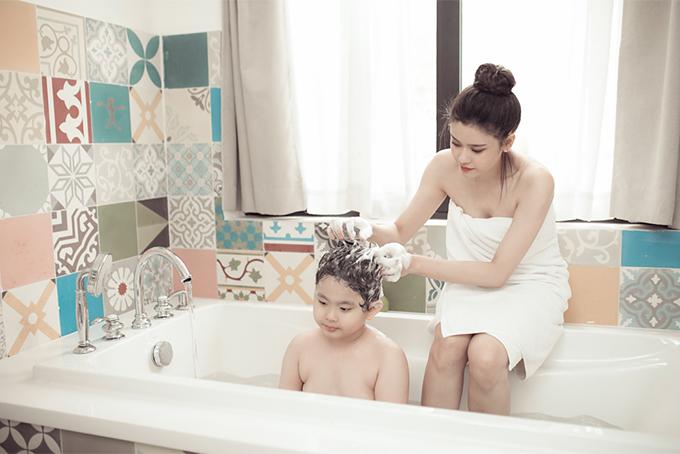 Đời thường đáng yêu của mẹ con Trương Quỳnh Anh - 3