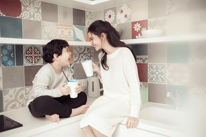 Đời thường đáng yêu của mẹ con Trương Quỳnh Anh - 7