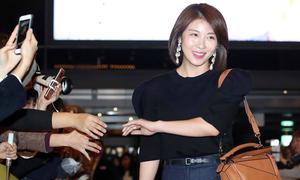 Ha Ji Won lần đầu dự sự kiện sau cú sốc em trai đột ngột ra đi