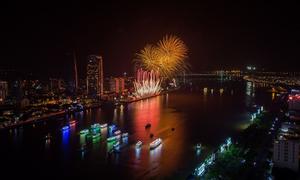 Điểm mới tại lễ hội pháo hoa Đà Nẵng 2018