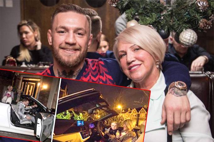 McGregor tặng mẹ xe mui trần đắt tiền