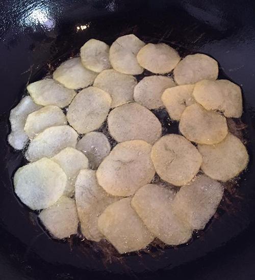 Bim bim khoai tây giòn tan làm nhanh tại nhà - 3