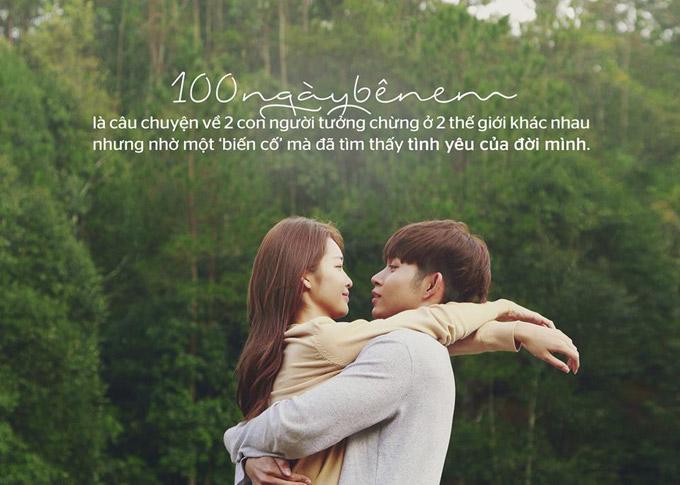 Hình ảnh ngọt ngào của Khả Ngân và Jun Phạm trong phim ngôn tình mới.