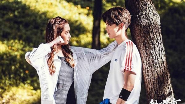 Lộc Hàm và bạn gái Quan Hiểu Đồng đóng cặp trong phim Điềm mật bạo kích.