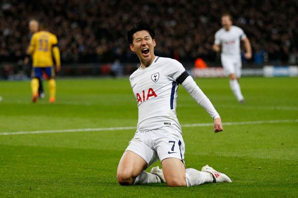 Trong trận lượt về trên sân Wembley, chàng cầu thủ xứ Hàn khiến các fan đội bóng thành London phấn khích khi ghi bàn mở tỷ số trong hiệp một. Nếu kết quả này được giữ nguyên, Spurs sẽ loạt Juve và vào tứ kết, tuy nhiên kết quả không như mơ với các fan đội bóng áo trắng.